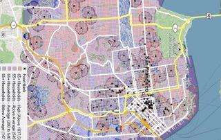 precision analytics group data map of San Francisco